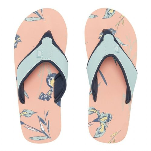 ANIMAL WOMENS FLIP FLOPS.NEW SWISH AOP BLUE PINK SOFT TOE POST THONGS 9S 11/X27